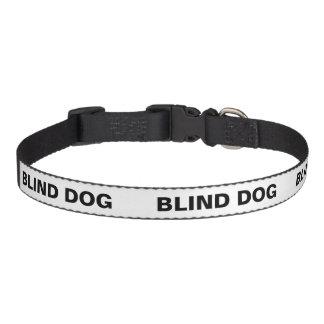 Color Coded Dog Temperament Collar - Blind Dog Pet Collar