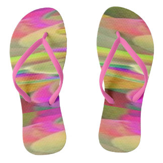 Color Desert Flip Flops Thongs