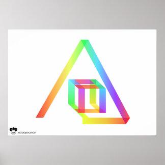Color Flow Poster