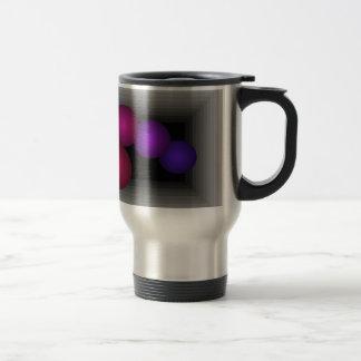 Color Fun Optical Illusion Infinity Spheres Travel Mug