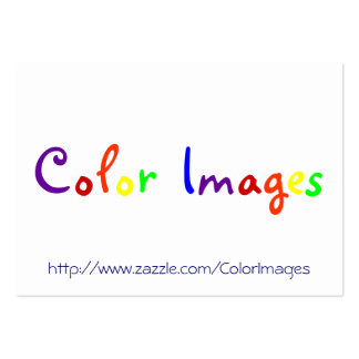 Color Images Pack Of Chubby Business Cards