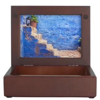 Color in the wall, Arequipa, Peru Keepsake Box