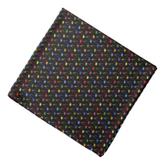 color music notes pattern do-rags