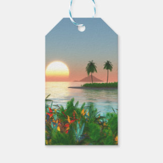 Color of Tropic Gift Tags