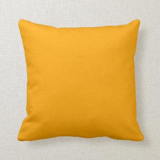 color orange throw cushions