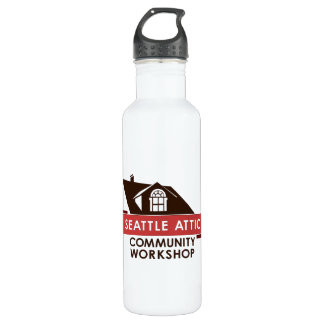 Color SACW Logo, 710 Ml Water Bottle
