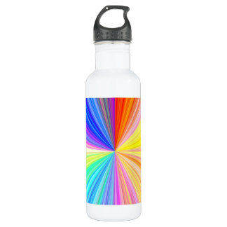 Color Shade Wheel - Rainbow Extreme 710 Ml Water Bottle