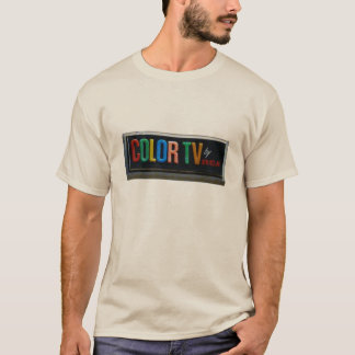 Color Tv | Motel Signage | Americana T-Shirt