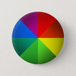 Color Wheel 6 Cm Round Badge