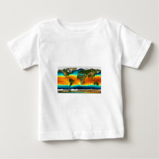 COLOR WORLD MAP BABY T-Shirt
