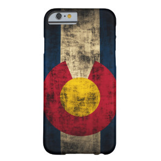 Colorado Flag Grunge iPhone 6 case Barely Case Barely There iPhone 6 Case