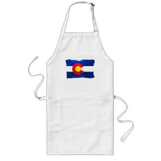 COLORADO FLAG LONG APRON