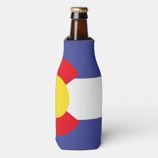 COLORADO Flag Pattern -.png Bottle Cooler