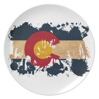 Colorado Flag Plate