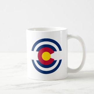 Colorado Flag Theme 00 Basic White Mug