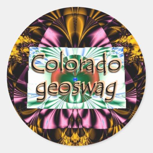 Colorado Geocaching Supplies Stickers Geoswag