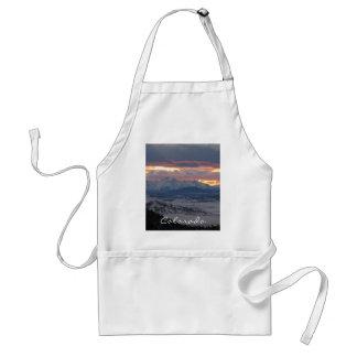 Colorado Mountain Sunset Apron