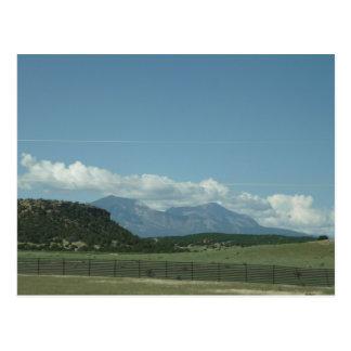 Colorado Mountain View Postcard