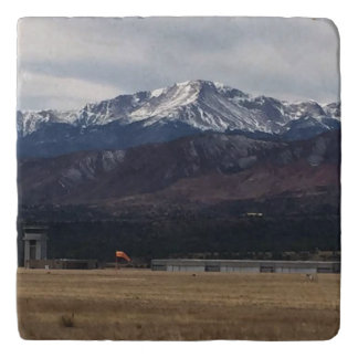 Colorado mountains trivet