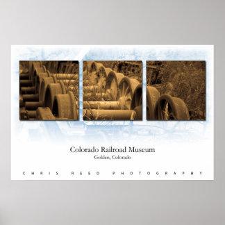 Colorado Railroad Museum Poster