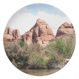 Colorado River near Moab, Utah 1 Plate