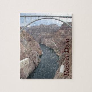 Colorado River Under Hoover Dam Jigsaw Puzzle
