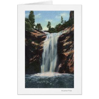 Colorado Springs, CO - Bridal Veil Falls Card