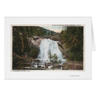 Colorado Springs, CO - Helen Hunt Falls Card