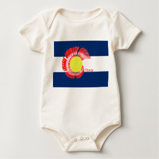 Colorado State Rams Baby Baby Bodysuit