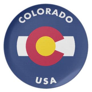 Colorado USA Plate