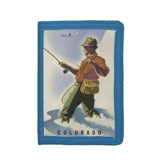 Colorado USA Vintage Travel wallets
