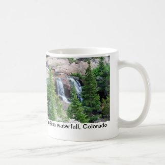 Colorado waterfall coffee mug