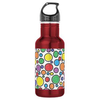 Colored Bubbles Water Bottle 532 Ml Water Bottle