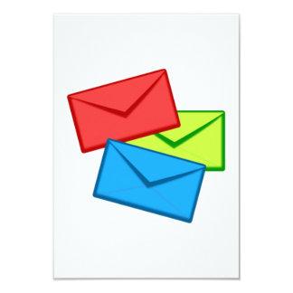 Colored Envelopes Custom Announcements