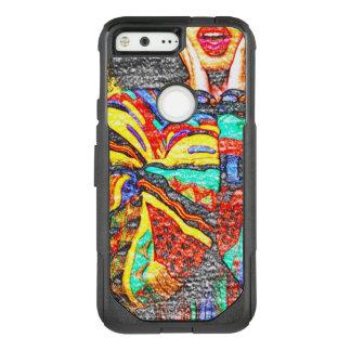 Colorful 90s Google Pixel Otterbox Case