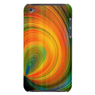 Colorful abstract Fractal Art Barely There iPod Cases