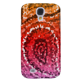 Colorful Abstract Mosaic Paisley Pattern Galaxy S4 Case