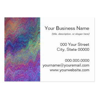 Colorful Abstract Painting Business Card Templates