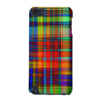 Colorful Abstract Stripes Art iPod Touch 5G Covers