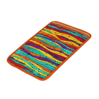 Colorful Abstract Stripes MacBook Sleeve