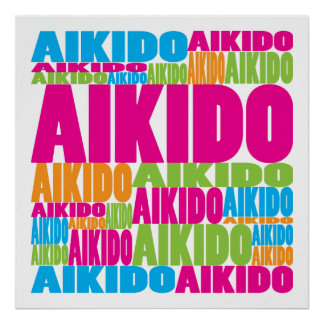 Colorful Aikido Print