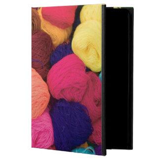 Colorful Alpaca Wool, Huaraz, Cordillera Blanca Case For iPad Air