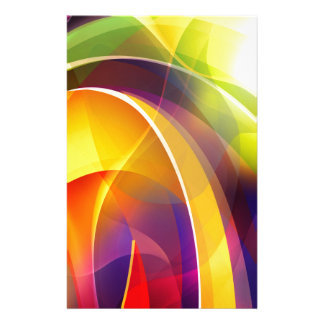 Colorful and Gorgeous Rainbow Stationery