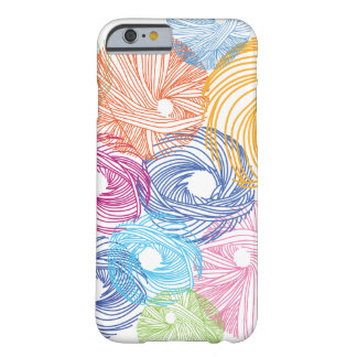 Colorful art illustration case barely there iPhone 6 case