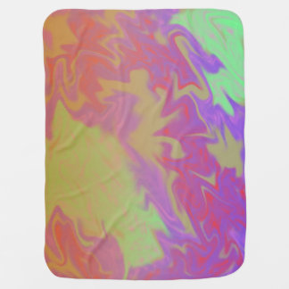 Colorful Artsy Splash Pramblanket