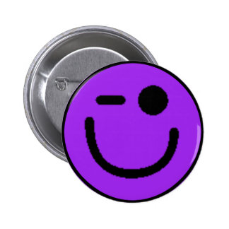Colorful Assorted Smileys(See Description) 6 Cm Round Badge