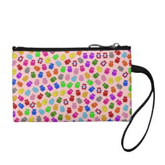 Colorful Bears Coin Purse