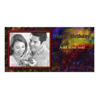 Colorful Birthday Design Picture Card
