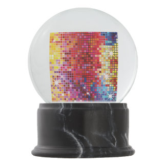 Colorful Bling-Snow Globe Snow Globe