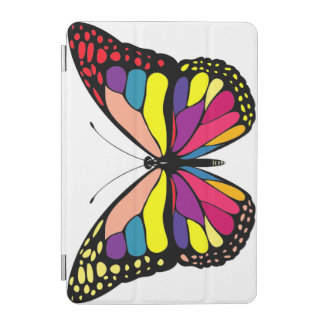 Colorful butterfly iPad mini cover